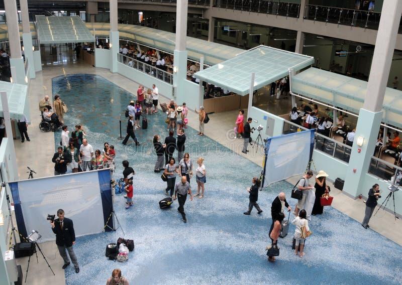 Terminal del acceso de la travesía de Fort Lauderdale foto de archivo libre de regalías