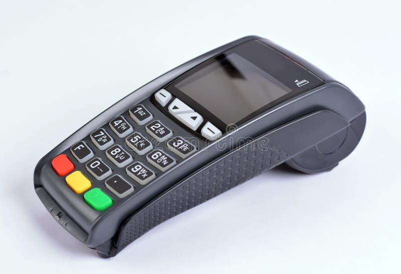 Terminal do pagamento GPRS da posição foto de stock