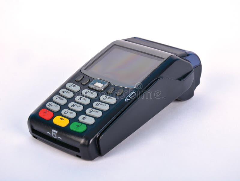 Terminal do pagamento GPRS da posição fotografia de stock