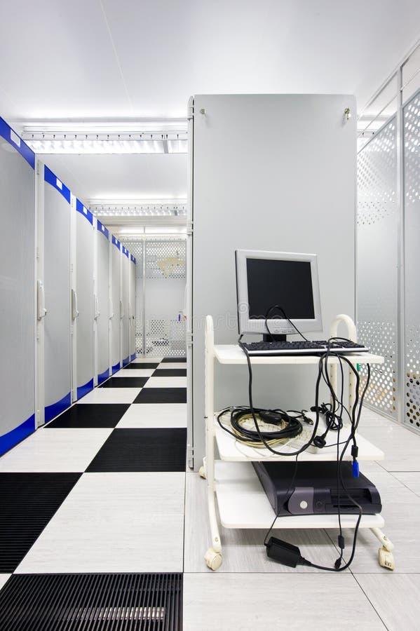 Terminal en Datacenter fotografía de archivo