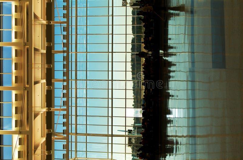 Terminal IAH royalty-vrije stock foto's