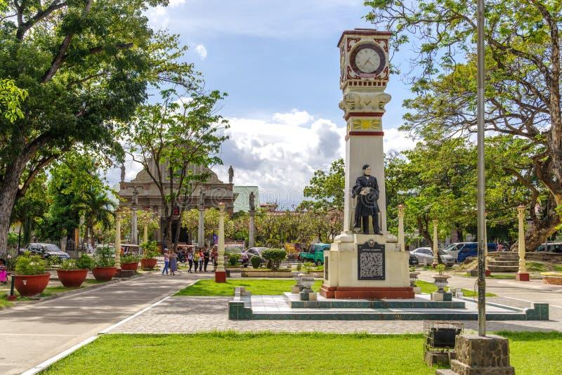 Terminale del porto di Liloan all'isola di Cebu fotografia stock libera da diritti