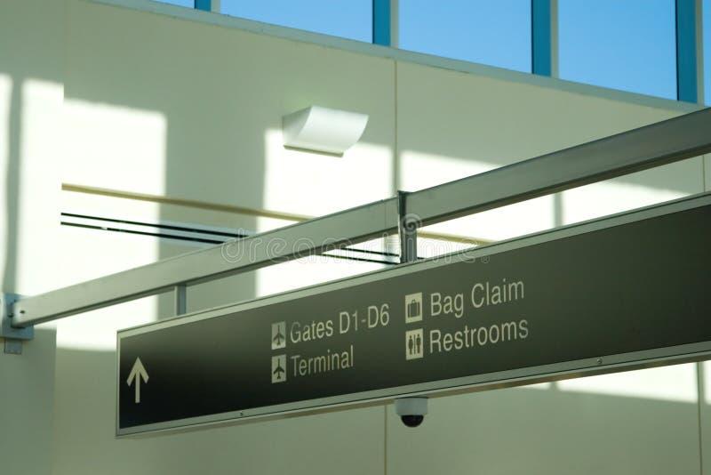 Terminale di aeroporto immagini stock