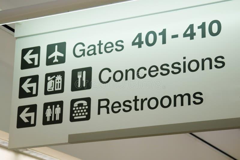 Terminale di aeroporto fotografie stock