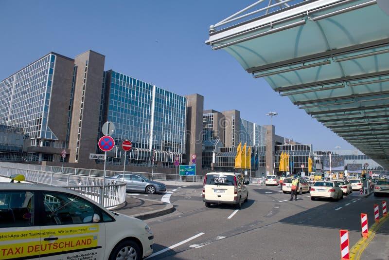Terminale di aeroporto di Francoforte 1 Hotel vicino all'aeroporto immagini stock