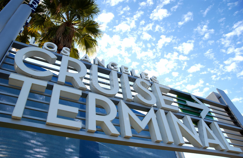 Terminale di crociera immagine stock libera da diritti