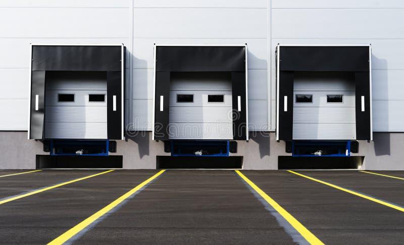 Terminale di trasporto per consegne di autocarri fotografia stock