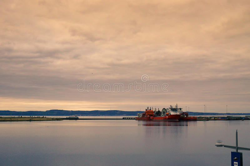 Terminale Edimburgo dell'oceano fotografia stock libera da diritti