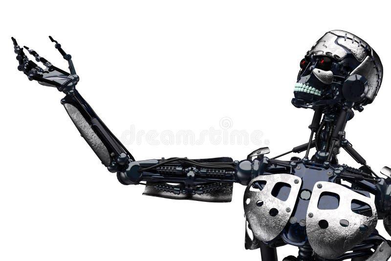 Terminator być ilustracja wektor