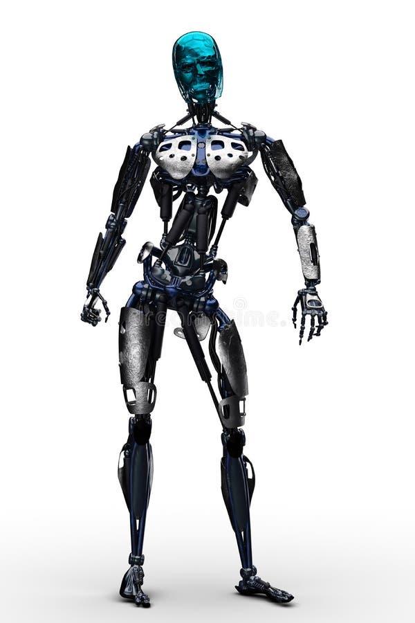 terminator stand up stock illustration