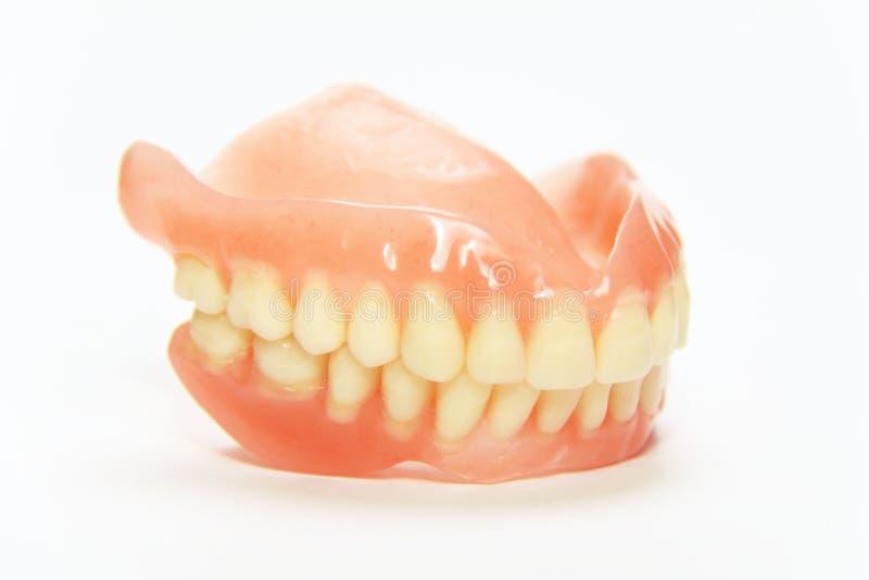 Termine a dentadura fotografia de stock