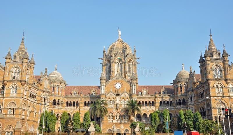 Terminus Chhatrapati Shivaji стоковое изображение
