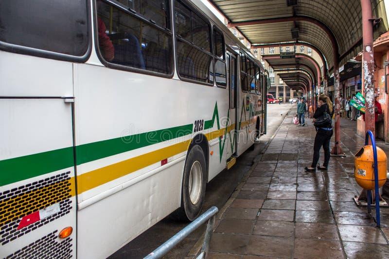 Terminus de bus image libre de droits