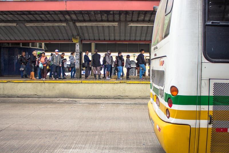 Terminus de bus image stock