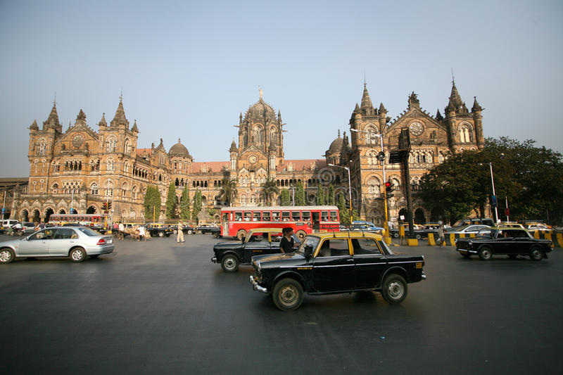terminus victoria mumbai стоковое фото rf