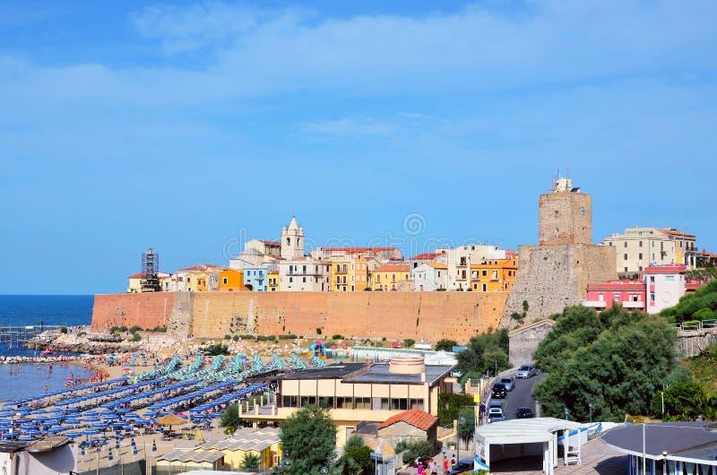 Termoli, Molise, Ιταλία στοκ εικόνα με δικαίωμα ελεύθερης χρήσης