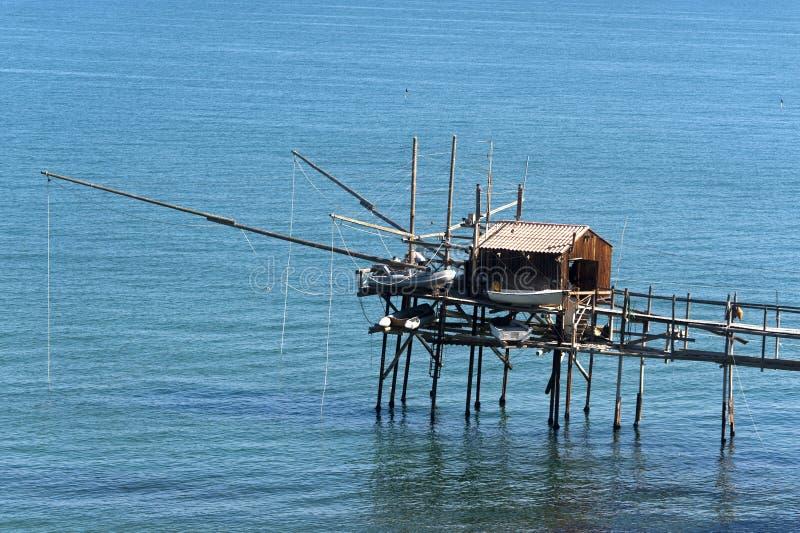 Termoli (Molise, Italy) - Fishing stock image