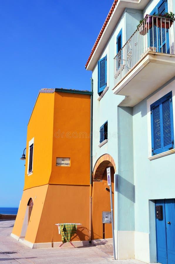 Termoli, Molise, Italy stock images