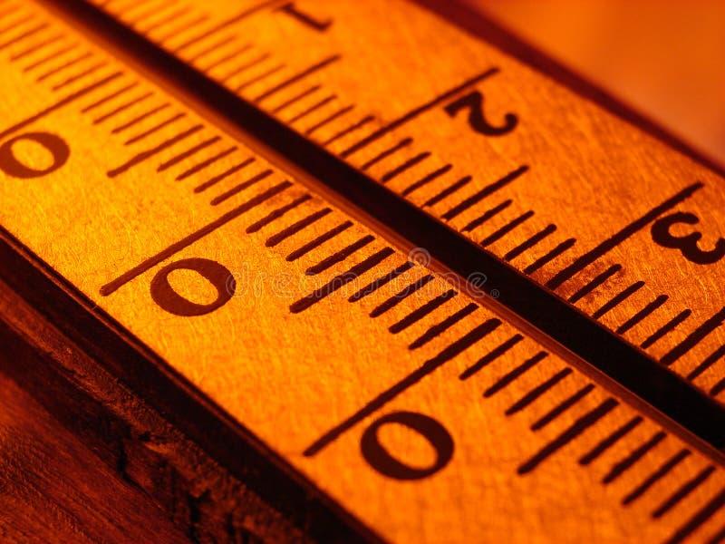 Termometer royalty-vrije stock afbeeldingen