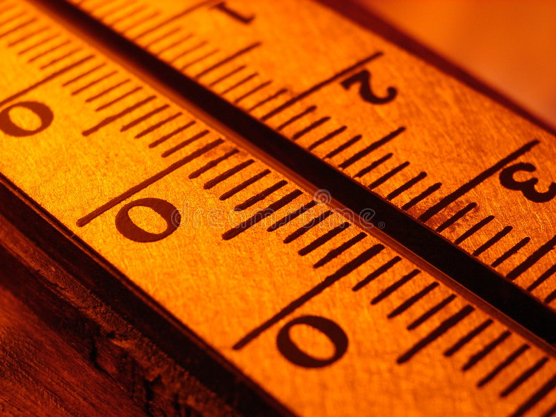 Termometer imagens de stock royalty free
