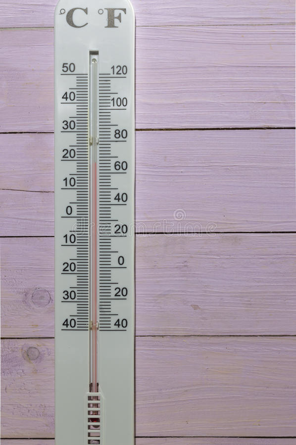 Celsius Termometer Och Fahrenheit Stock Foton