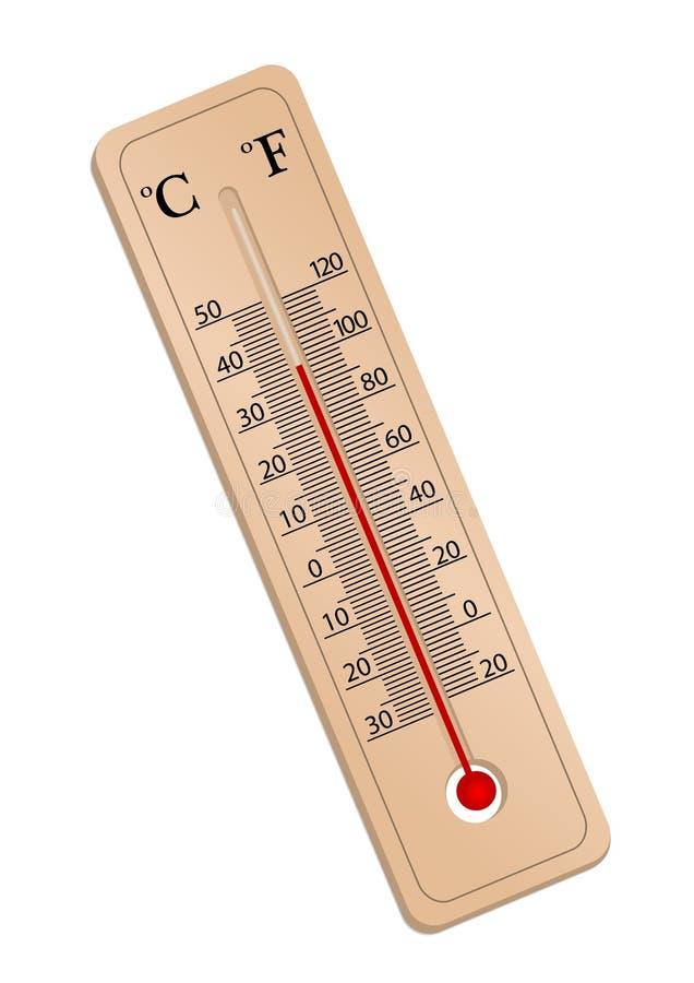termometr ilustracja wektor