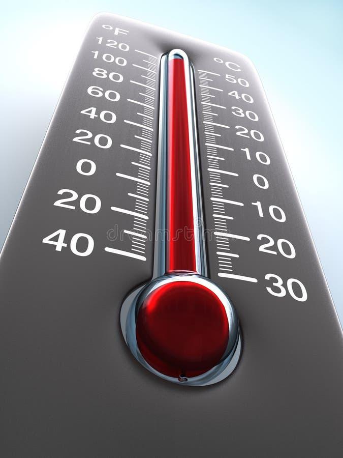 termometr royalty ilustracja