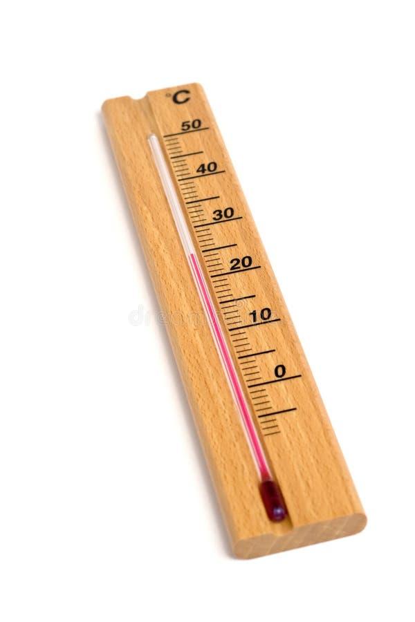 termometr drewna obrazy royalty free