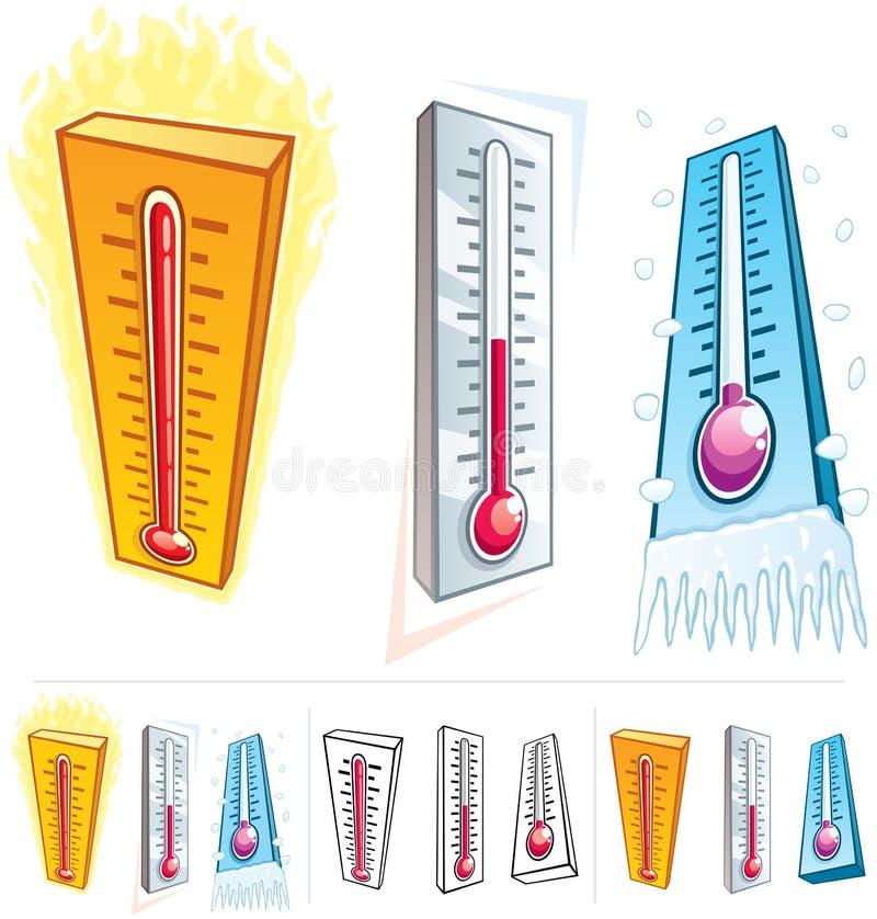 Termometro royalty illustrazione gratis