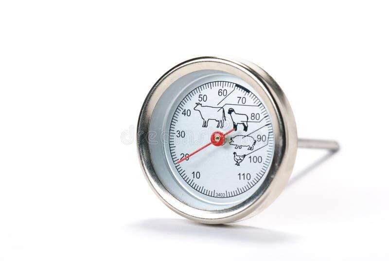 Termometro di carne fotografia stock libera da diritti
