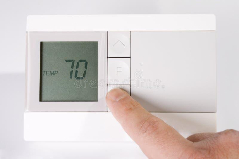 termostat fotografering för bildbyråer
