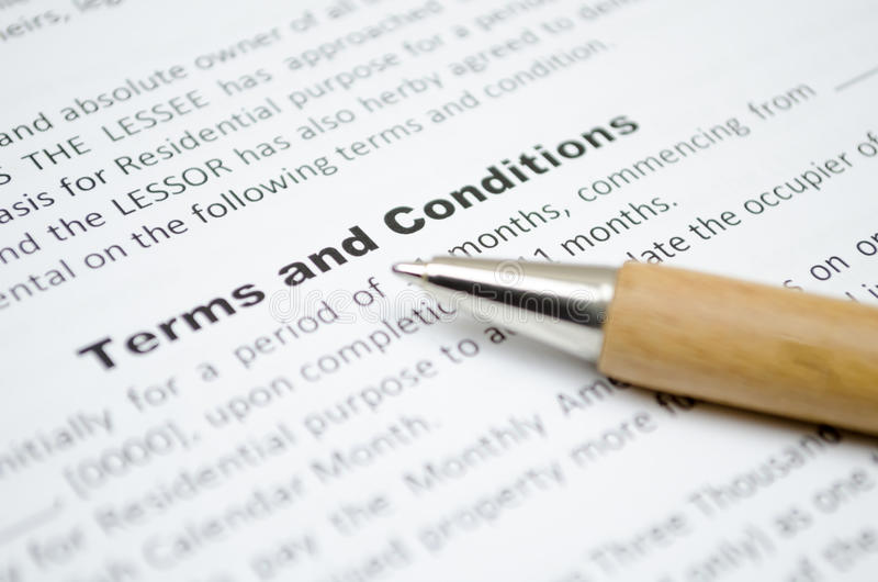 Download Terms and conditions stock image. Image of legal, help - 47541653