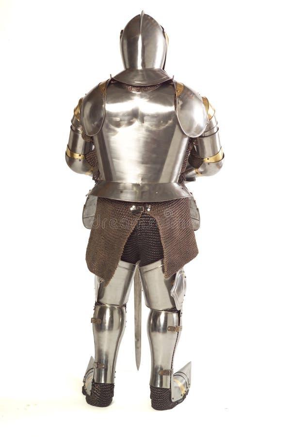 Terno de armadura imagens de stock royalty free