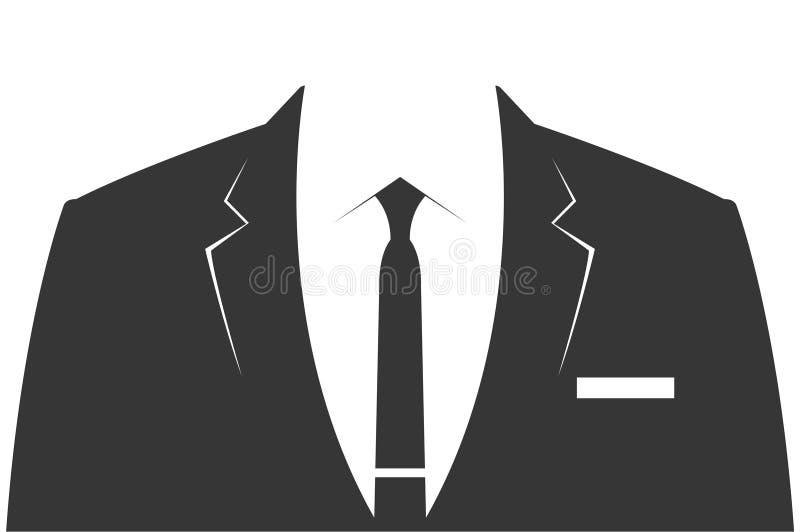 Terno de negócio - molde ilustração royalty free