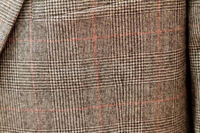 Terno do casamento da manta da mistura de lã imagem de stock royalty free