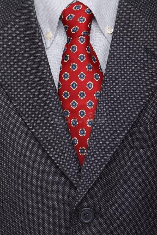 Terno e laço, vestuário masculino do negócio imagem de stock royalty free