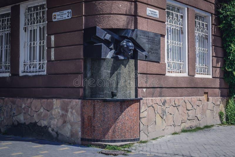 Ternopil in de Oekraïne stock foto's