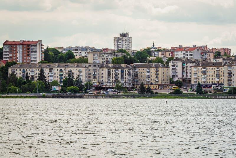 Ternopil i Ukraina royaltyfri fotografi