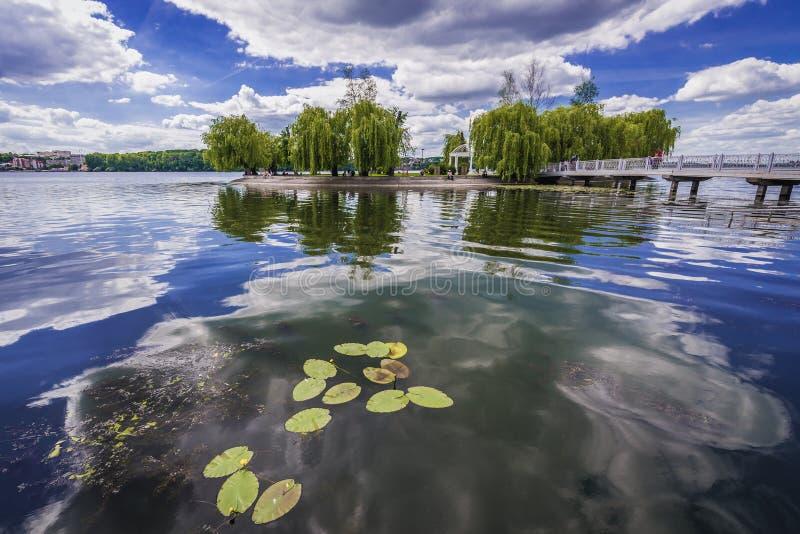 Ternopil i Ukraina fotografering för bildbyråer
