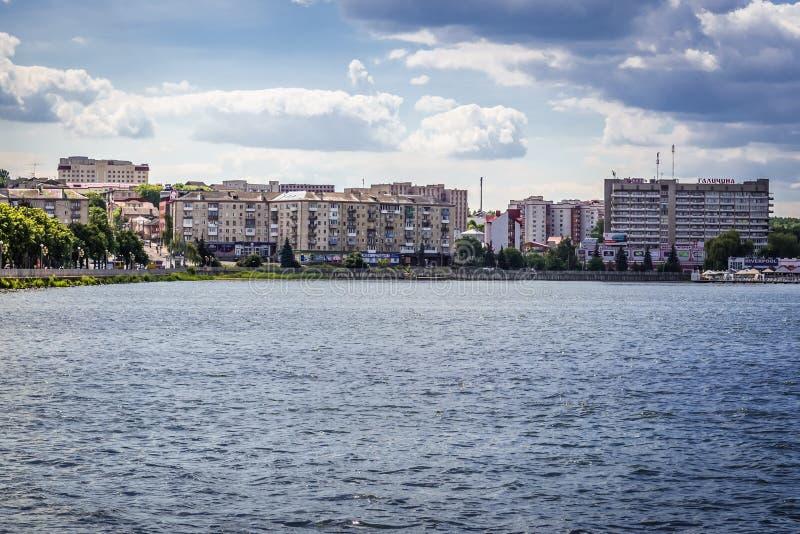 Ternopil i Ukraina royaltyfria bilder