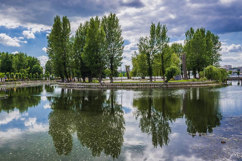Ternopil in Ucraina fotografia stock libera da diritti