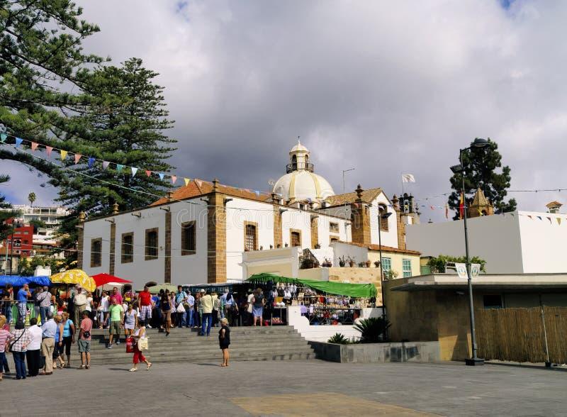 Teror, Gran Canaria fotografia stock