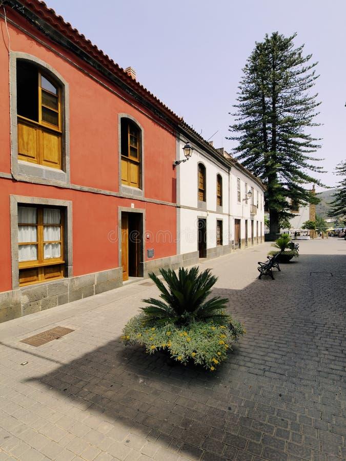 Teror, Gran Canaria stockbild