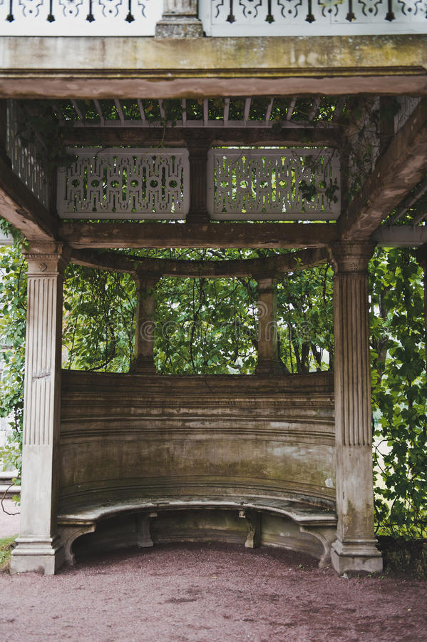 Terraço do granito em Catherine Park 1061 foto de stock royalty free