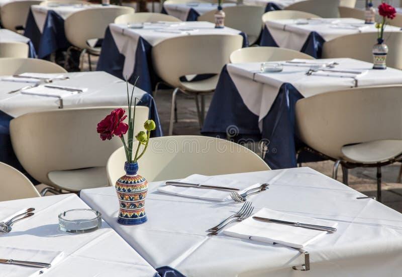 Terraço Do Restaurante Foto de Stock
