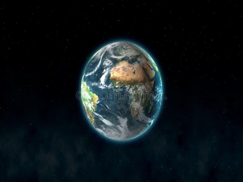 terra πλανητών στοκ εικόνα