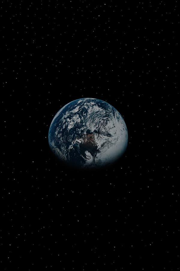 Terra 2 imagem de stock