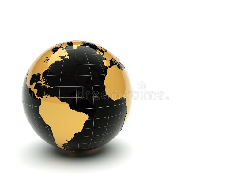 terra 3d illustrazione vettoriale