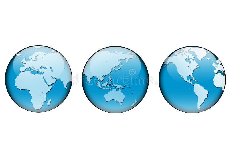 Terra #4 royalty illustrazione gratis