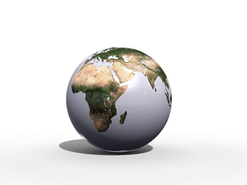 Terra ilustração stock